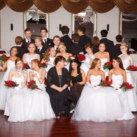 Debutante group photo